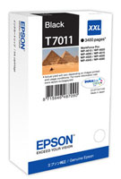 Black Epson T7011 XXL Ink Cartridge (C13T70114010 Printer Cartridge)