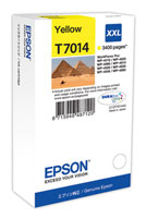 Yellow Epson T7014 XXL Ink Cartridge (C13T70144010 Printer Cartridge)