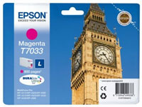 Magenta Epson T7033 Ink Cartridge (C13T70334010 Printer Cartridge)