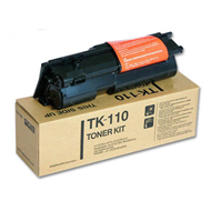 Kyocera TK110 High Capacity Black Toner Cartridge - TK 110, 6K Page Yield