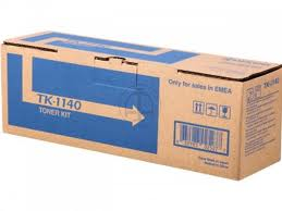 Kyocera TK1140 Black Toner Cartridge - TK 1140, 7.2K Page Yield