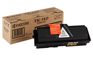 Kyocera TK140 Black Toner Cartridge - TK 140, 4K Page Yield