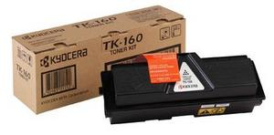 Kyocera TK 160 Black Toner Cartridge, 2.5K Page Yield