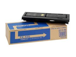 Kyocera TK 435 Black Toner Cartridge, 15K Page Yield