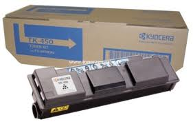 Kyocera TK 450 Black Toner Cartridge, 15K Page Yield