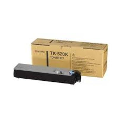 Kyocera TK520K Black Toner Cartridge - TK 520K, 6K Page Yield
