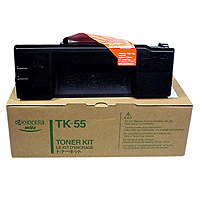 Kyocera TK55 Toner Cartridge, 15K Page Yield