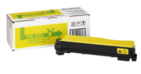 Kyocera TK550Y Yellow Toner Cartridge - TK 550Y, 6K Page Yield