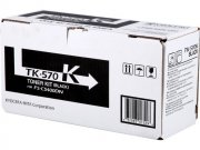 Kyocera TK570K Black Toner Cartridge - TK 570K, 16K Page Yield