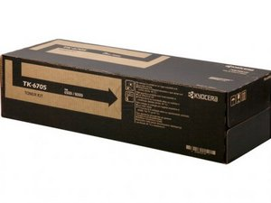Kyocera TK6705 Toner Cartridge, 70K Page Yield