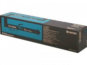 Kyocera TK8305C Cyan Toner Cartridge, 15K Page Yield