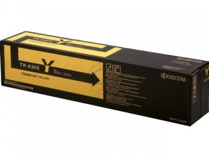 Kyocera TK8305Y Yellow Toner Cartridge, 15K Page Yield