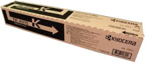 Kyocera TK8315K Black Toner Cartridge, 12K Page Yield