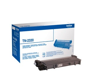 Brother High Capacity Black Toner Cartridge - TN-2320, 2.6K Page Yield