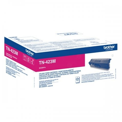 Brother High Capacity Magenta Toner Cartridge - TN-423M, 4K Page Yield