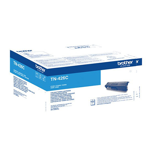 Brother Extra High Capacity Cyan Toner Cartridge - TN-426C, 6.5K Page Yield