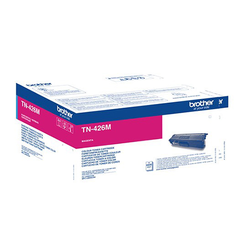 Brother Extra High Capacity Magenta Toner Cartridge - TN-426M, 6.5K Page Yield