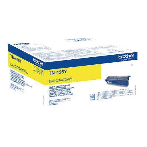 Brother Extra High Capacity Yellow Toner Cartridge - TN-426Y, 6.5K Page Yield