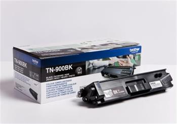 Brother Black Toner Cartridge - TN-900BK, 6K Page Yield