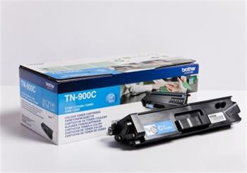 Brother Cyan Toner Cartridge - TN-900C, 6K Page Yield