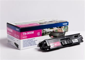 Brother Magenta Toner Cartridge - TN-900M, 6K Page Yield