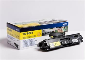 Brother Yellow Toner Cartridge - TN-900Y, 6K Page Yield