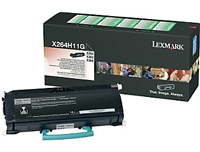 Lexmark 0X264H11G High Capacity Return Program Toner Cartridge, 9K Page Yield
