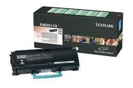 Lexmark 0X463X11G Extra High Capacity Return Program Toner Cartridge, 15K Yield