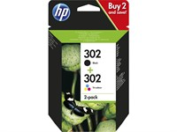 HP 302 4-Colour Multipack Ink Cartridge (X4D37AE) Printer Cartridge
