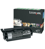 Lexmark 0X651A11E Return Program Toner Cartridge, 7K Yield