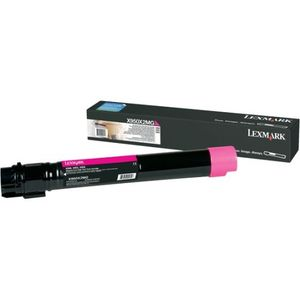 Lexmark 0X950X2MG Magenta Toner Cartridge, 24K Page Yield