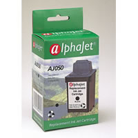 Alphajet Replacement Black Ink Cartridge for Lexmark 17G0050