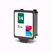Alphajet Replacement Colour Ink Cartridge (Alternative to HP No 14, C5010D)