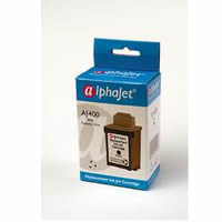 Alphajet RL400 Replacement Black Ink Cartridge for Lexmark 13400HC