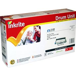 Inkrite Premium Quality Drum Unit for Brother DR-2100, 12K Page Yield