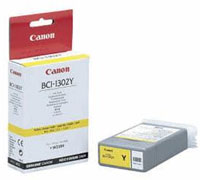 Canon BCI 1302Y Yellow Ink Cartridge -7720A001, 130ml