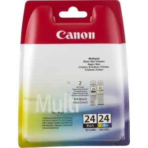 Canon BCI-24 Black and Colour Ink Cartridges