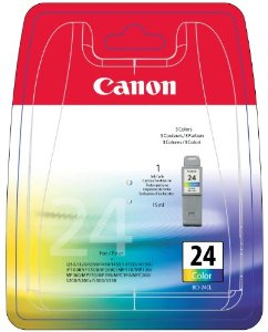Canon BCI-24 Colour Ink Cartridge ( 24 Color )