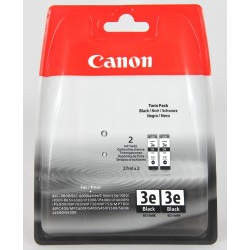 Canon Twin Pack BCI-3e Black Ink Cartridges ( 3e Black )
