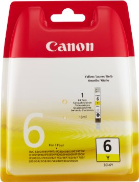 Canon BCI-6 Yellow Ink Cartridge