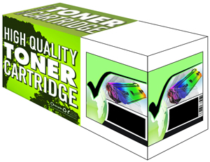 Black Toner Cartridge Compatible with Konica Minolta MagiColor QMS 1710589-004