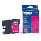 Brother LC-1100HY-M High Capacity Magenta Ink Cartridge