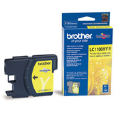 Brother LC-1100HY-Y High Capacity Yellow Ink Cartridge