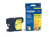 Brother LC-1100Y Standard Capacity Yellow Ink Cartridge