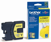 Brother LC-980Y Yellow Ink Cartridge