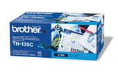 Brother High Capacity Cyan Laser Toner Cartridge TN-135C