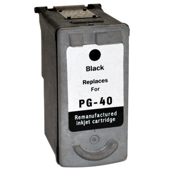 Premium Quality Black Ink Cartridge for Canon PG40