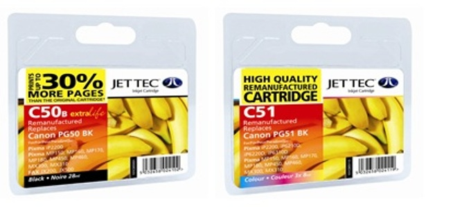 Replacement Extra High Capacity Colour Ink Cartridge (Alternative to Canon CL-51) CMY x 8ml