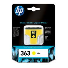HP 363 Vivera Yellow Ink Cartridge - C8773E