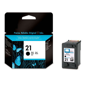 HP 21 Black Ink Cartridge (C9351A)